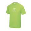 Kids T Shirt Boys Girls Sports Football Training green